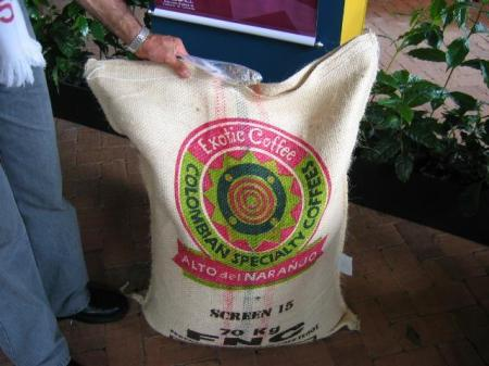 70kg Sack for Sale to Exporters in Colombia