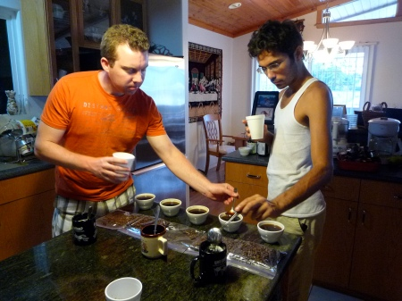 Cupping With Miguel At Lorie's Home
